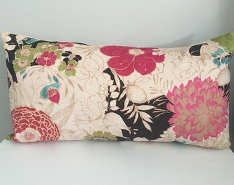 Decorative Pillow Cover In Velvet Floral, Throw Pillow