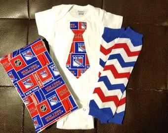 Boutique NY Rangers Baby Gift Set