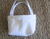 Custom Order for Azaletha 4 white Doll Purses