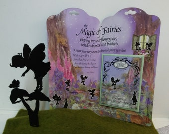 Posey Toadstool Fairy Shadows and Enchanted Fairy Garden Seeds