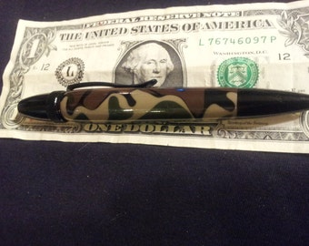 Woodland  Camo Twist Pen stocking stuffer Back Friday Cyber Monday sale free shipping