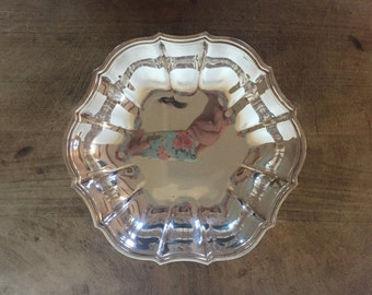Vintage silver plate server