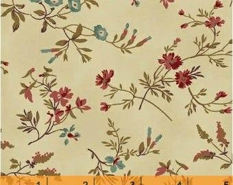 Coryn - Tossed Flowers Cream Beige from Windham Fabrics