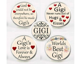 Snap Charms, MAMAW, Grandma, Grandmother,  Interchangeable Jewelry, 18mm Charm, Snaps, Snap Button Charm, Sayings, Mother's Day Gift #1