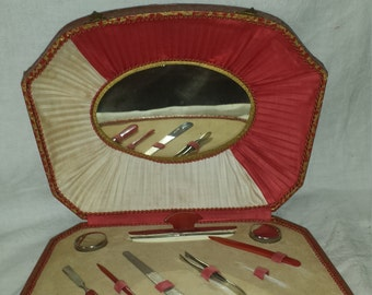 antique manicure set Germany