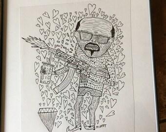 Swag Honkey (original drawing)
