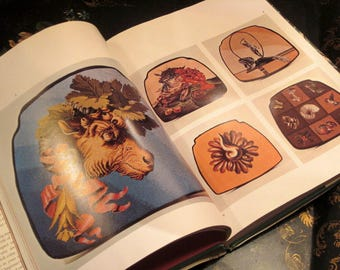 Vintage Book Needlepoint Design By Louis J. Gartner