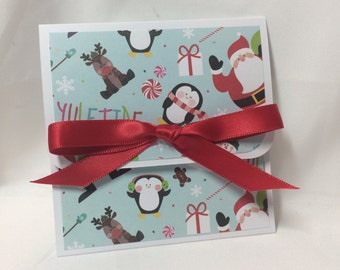 Christmas Friends Holiday Gift Card Holder