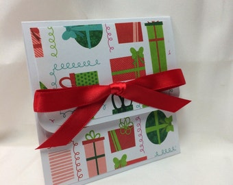 Under the Tree Christmas Card Holder