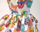 Shopkins Stars Sleeveless Dress for your 18 Inch Doll B