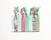 FOE Hair Ties (seven) - the Tootsie & Marie pack