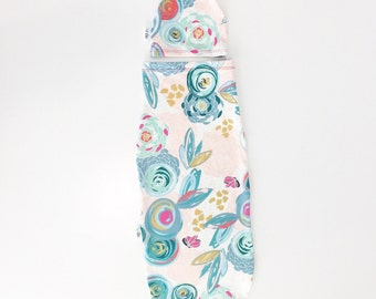 Baby Girl Cocoon- Modern Baby- Newborn Baby Swaddle Sack- Lil Cleo