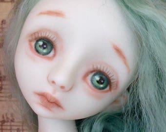 "OOAK Porcelain Art Doll  ""Gracie"""