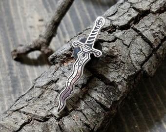 Ritual Dagger Pin
