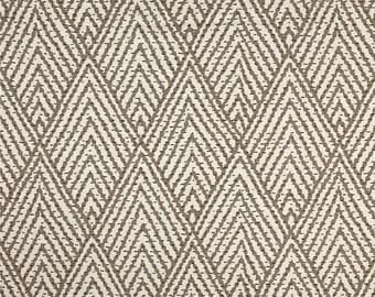 """Two 96""""L x 50""""W Custom Curtain Panels   - Lacefield Tahitian Stitch Tusk"""