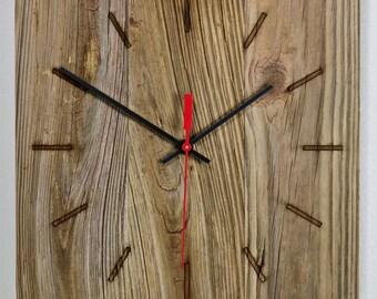 Weather Barn Wood Wall Clock