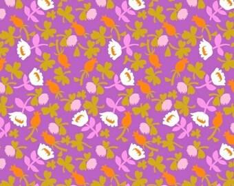 Half metre Calico Lilac, OOP Heather Ross, Briar Rose