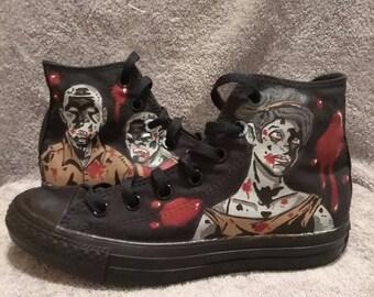 Zombie walker custom Converse