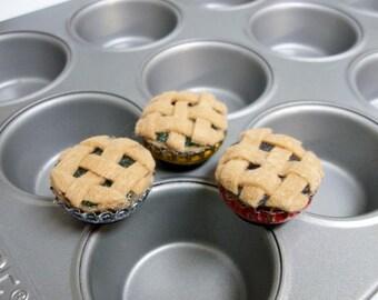Pie Magnets - Set of 3