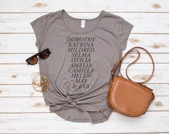 Theta Phi Alpha Shirt, Founders