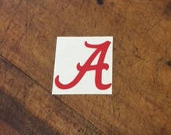 University of Alabama Decal