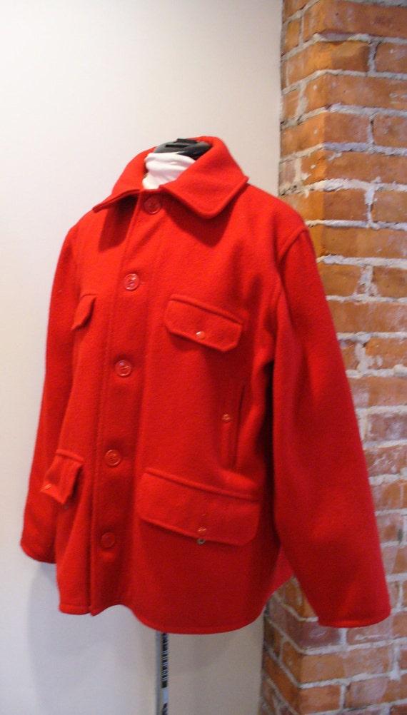 Vintage Johnson Woolen Mills Hunting  Jacket Size 42