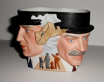 Avon Vintage  Wright Brothers Character Mug 1985