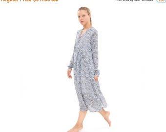 leopard white evening dress, Chiffon V neck dress, Oversize Dress, Bridesmaids Dress, Formal dress, Elegant modern dress