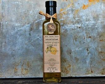 Infused Olive Oil - Extra virgin Olive Oil - Lemon Infused - Italian Olive Oil