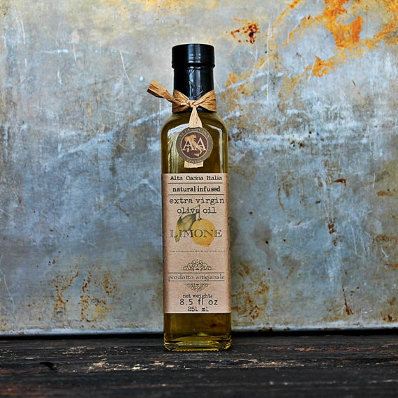 LEMON Infused Extra Olive Oil 8,5 fl oz