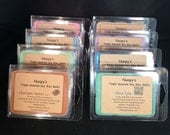 FREE Sh! 6 Clam Shells TRIPLE SCENTED Noopy's Soy Wax Candle Melts/Tarts-140+ Scents +Bonus