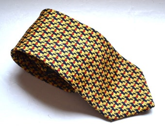 Vintage tie 90s Disney Cartoon Characters Winnie the Pooh tie The Disney store silk tie  made in Italy Gift for him Dude  Fathers Day gift