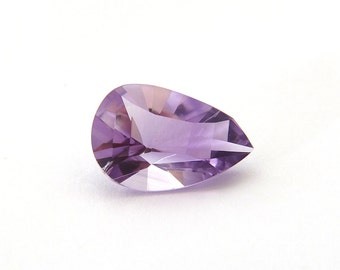 Amethyst Faceted Gemstone 12.9x19.4x9.6 mm 10.7 carats Free Shipping
