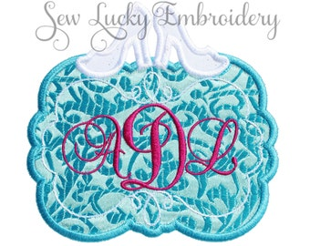 Princess Frame Patch - Monogramed Patch - Iron on Patch - Sew on Patch - Applique Patch - Iron on Applique - Patch