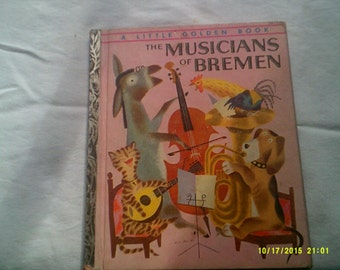 Musicians of Bremen Little Golden Book
