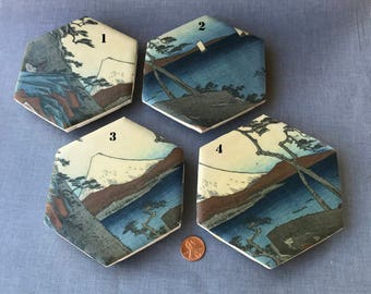 Japanese Countryside Coasters