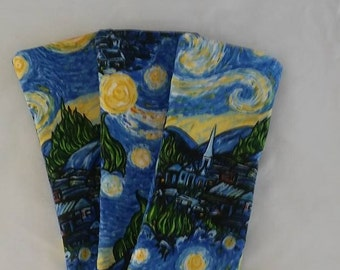 Eye Pillow/Free Ear Plugs/Cotton/Fabric/Lavender/Flax Seed/Starry Night/Bridal/Sleepover/Bridal/Gifts/Spa/Sleepover