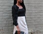 SALE: Vintage Christian Dior Silk Slip Skirt