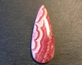 AAA Rhodochrosite cabochon - for jewelry designers or stone collectors - FabbyDabby Stones Item #17-010209
