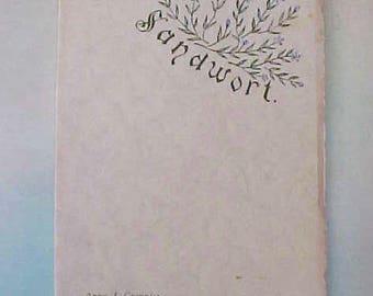 "Sweet Victorian Poetry Book: ""Sandwort"" by Anna J. Granniss"