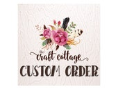 Custom Listing for Stacey R.