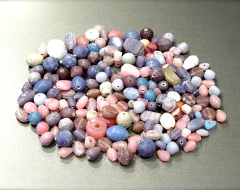 SUPPLY: 200 Mixed Glass Beads - Lavender Mix Beads - Glass Beads - Purple Beads - Jewelry Beads - Beading - Crafts - (9-A2-00007607)