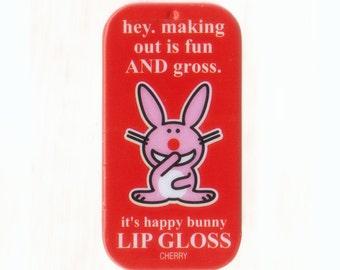 Happy Bunny Cherry Lip Balm