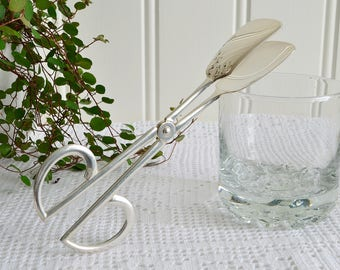 Stylish serving tongs , vintage German, pastry and cookie server