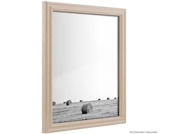 "Craig Frames, 11x17 Inch Whitewash Picture Frame, Wiltshire 200, .75"" Wide (200ASHWW1117)"