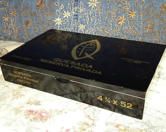 Cigar Box Quesada Reservation Private Label One In Stock by IndustrialPlanet