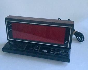 Vintage Cosmotime Large Face Digital Alarm Clock