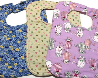 Adult Bibs - Special Needs Bibs - Toddler Bib - Large Feeding bibs - Custom Bibs for Adults - Dignity Bibs - Geriatric Bib - Ladies Bibs -