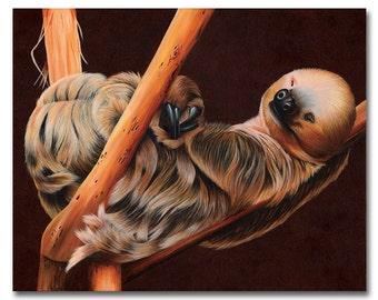 Sinful Slumber 8x10 print by Alicia Wishart