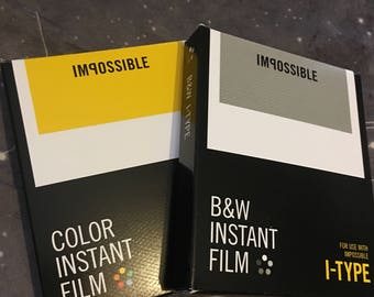 2 Pack Impossible Instant Film